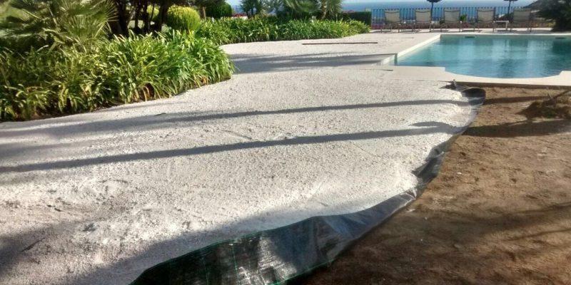 Instalar cesped artificial sobre tierra elegant como for Colocar cesped artificial sobre tierra