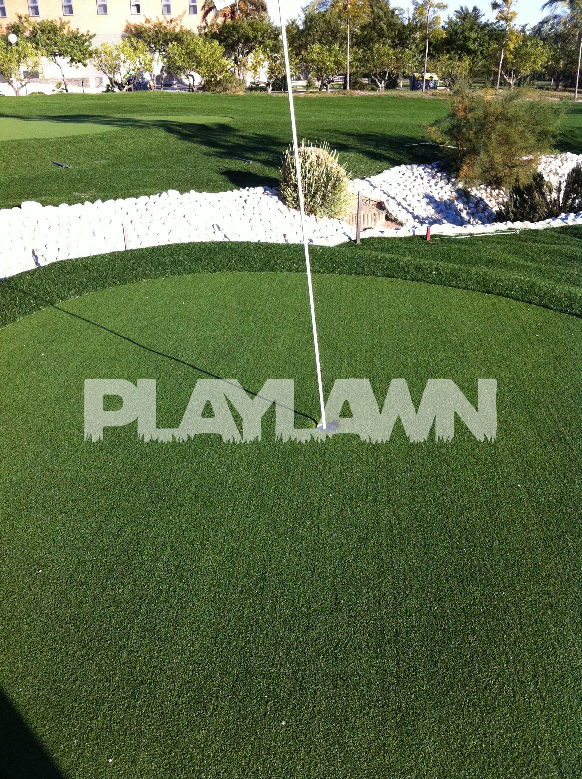 C sped Artificial M laga Campo de Golf Green