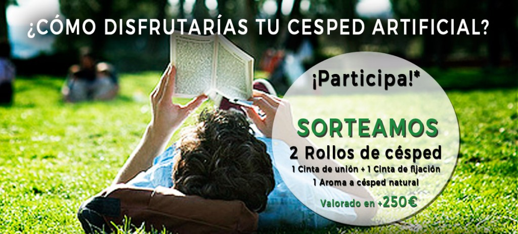 sorteo cesped artificial