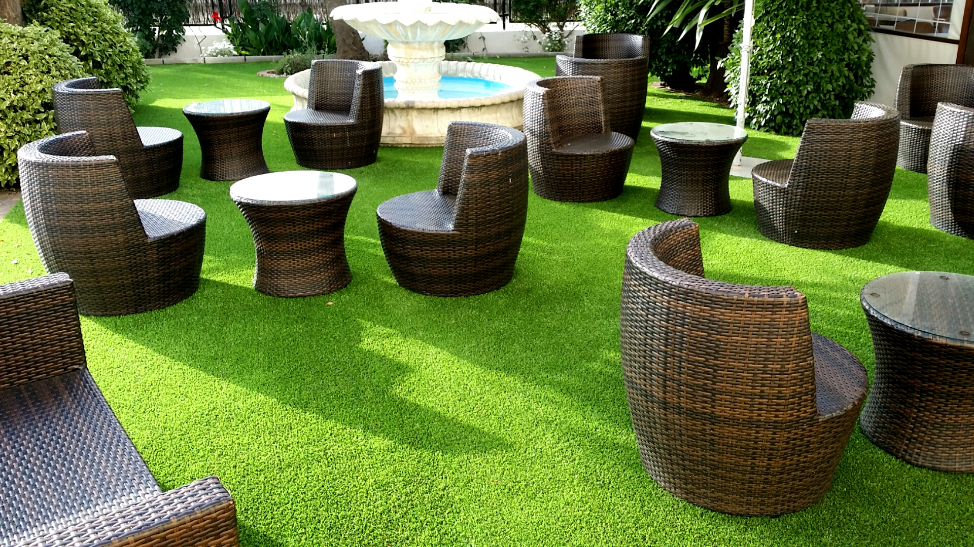 C sped artificial para jard n playlawn for Cesped para jardin