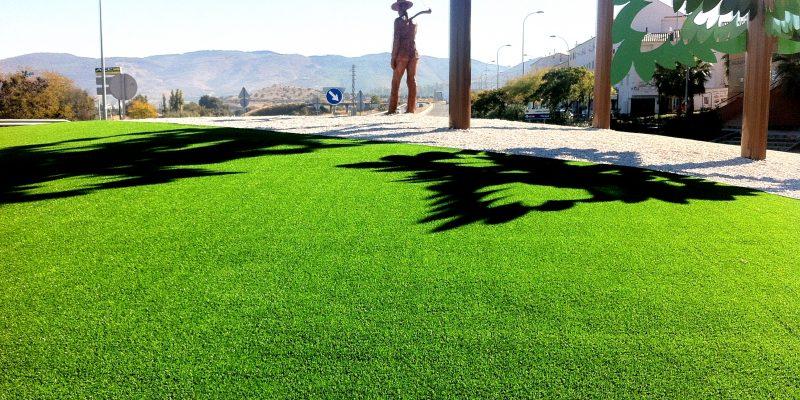 Césped artificial para urbanismo