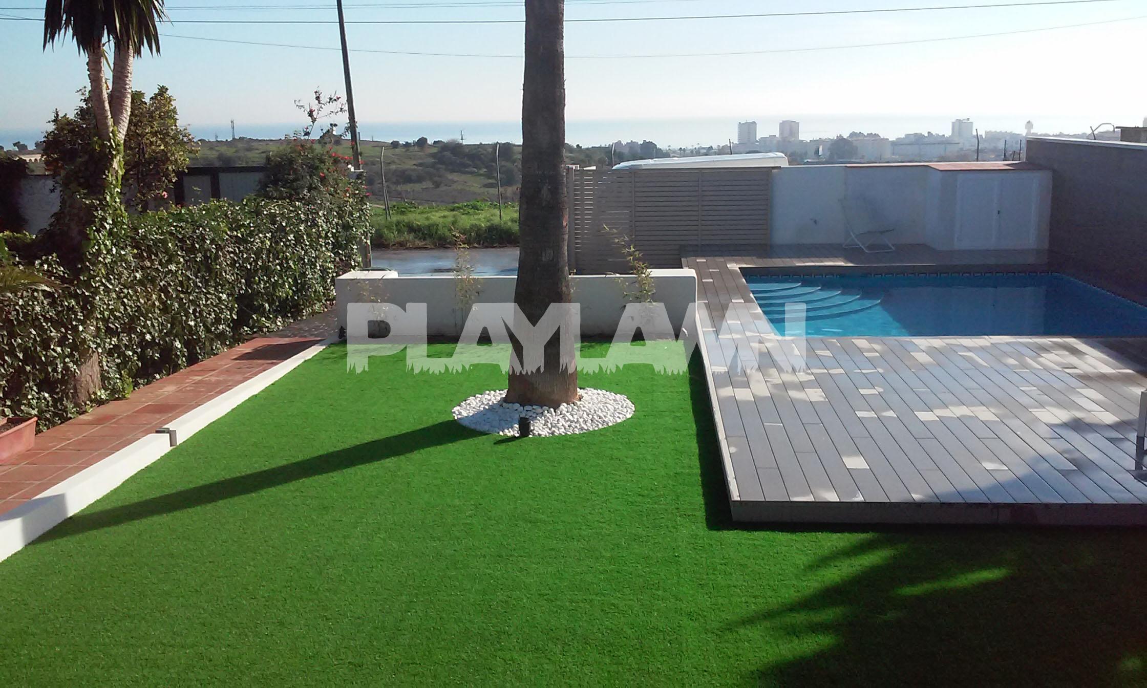 C sped artificial decorativo en piscinas archivos playlawn - Cesped artificial piscinas ...