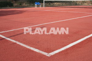 césped artificial pista de tenis