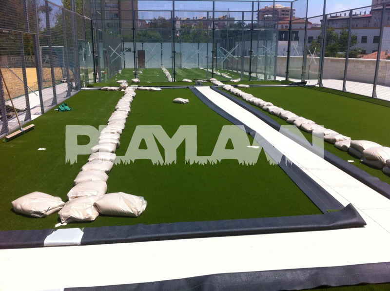 C sped artificial pista de padel archivos playlawn - Cesped artificial malaga ...