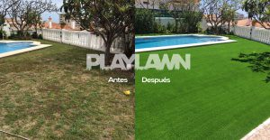 Césped Artificial Málaga | Antes y Después Benalmádena | Playlawn