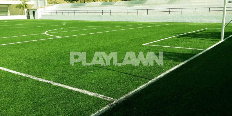 césped artificial para campo de fútbol