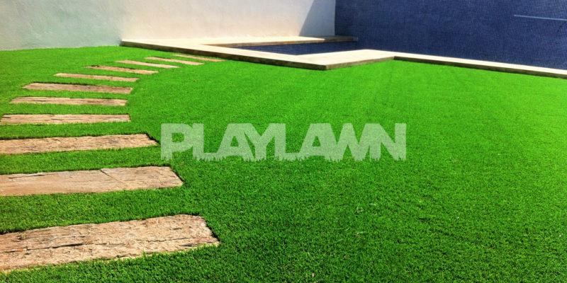 C sped artificial decorativo en jardines archivos playlawn - Cesped artificial en malaga ...